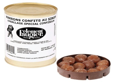 Candied chestnuts in syrup CLEMENT FAUGIER
