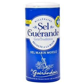 Fine Grey Sea Salt from Guérande LE GUERANDAIS